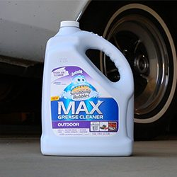 Five ways to clean garage floor stains lewis for Concrete floor degreaser